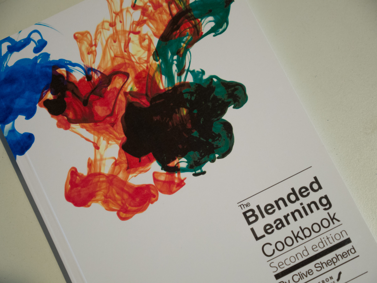 The Blended Learning Cookbook cover