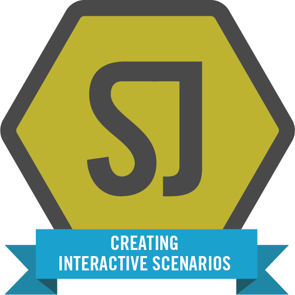 Creating interactive scenarios