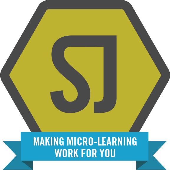 Making micro-learning work for you