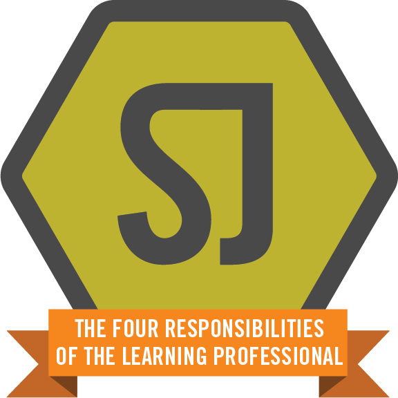 The four responsibilities of the learning professional