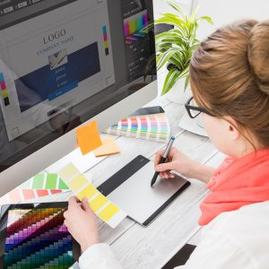 Visual design header